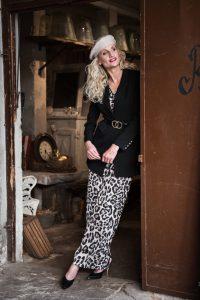 Blondes Model best ager Modefotografie Hamburg