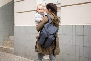 Paar mit Baby Kindermode, Kids Fashion Hamburg